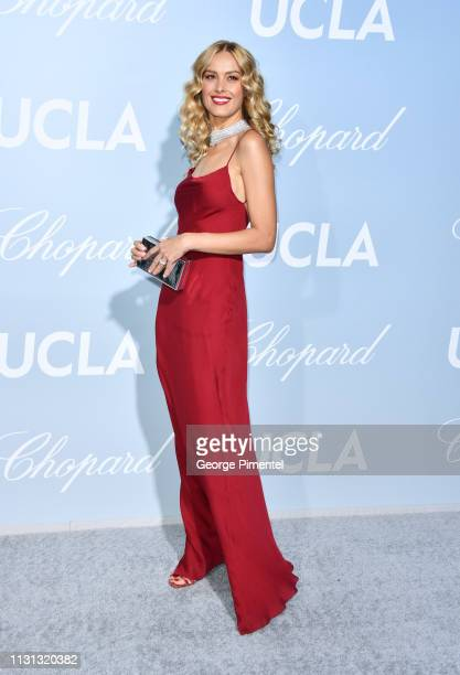 Petra Nemcova arrives at the 2019 Hollywood For Science Gala at Private Residence on February 21 2019 in Los Angeles California