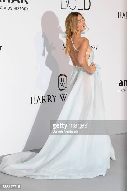 Petra Nemcova arrives at the amfAR Gala Cannes 2017 at Hotel du CapEdenRoc on May 25 2017 in Cap d'Antibes France