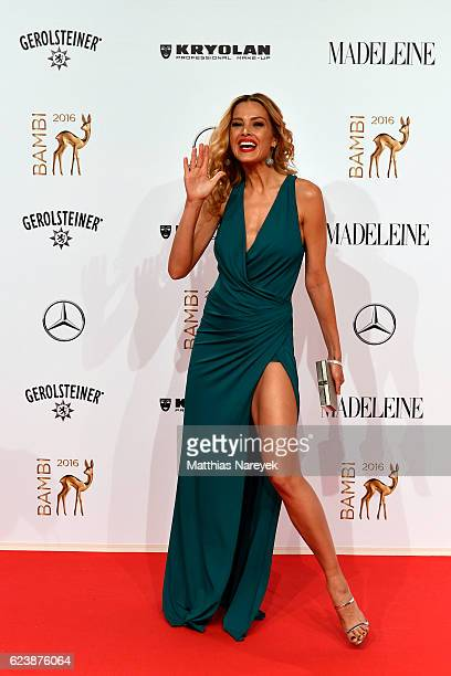 Petra Nemcova arrives at the Bambi Awards 2016 at Stage Theater on November 17 2016 in Berlin Germany
