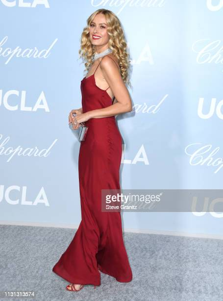 Petra Nemcova arrives at the Hollywood For Science Gala at Private Residence on February 21, 2019 in Los Angeles, California.
