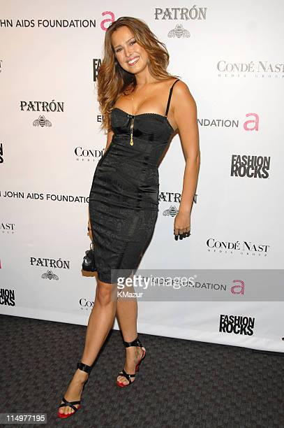Petra Nemcova at Conde Nast Media Group presents Elton John and the debut of his new album 'The Captain The Kid' at the official Fashion Rocks'...