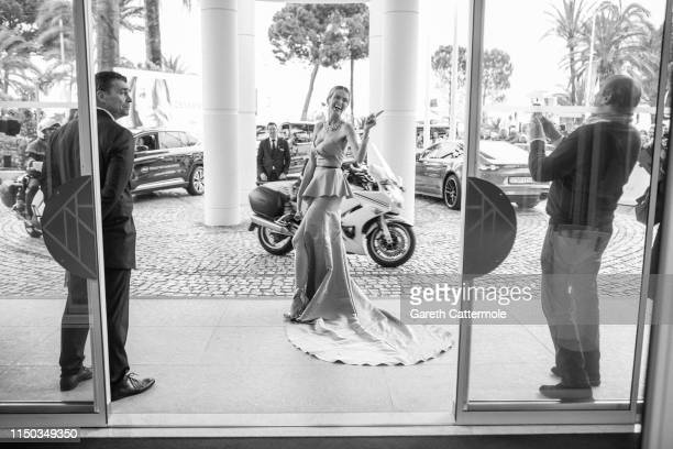 Petra Nemcova at the Hotel Martinez during the 72nd annual Cannes Film Festival on May 19 2019 in Cannes France