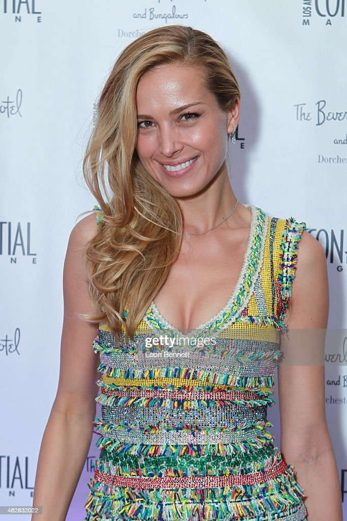 Petra Nemcova attended the Los Angeles Confidential Grammy Weekend Kickoff Party at Beverly Hills Hotel on February 5, 2015 in Beverly Hills, California.