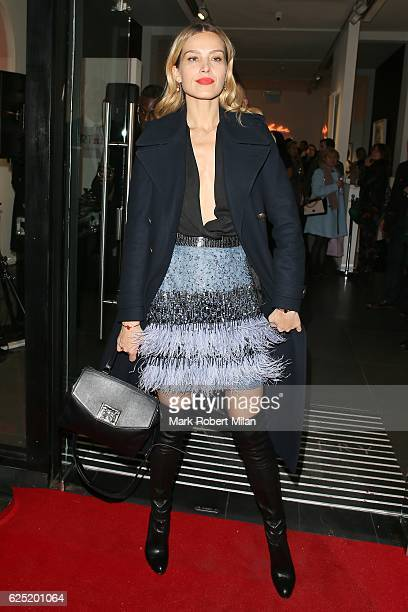 Petra Nemcova attending the BritARTnia Private View on November 22 2016 in London England