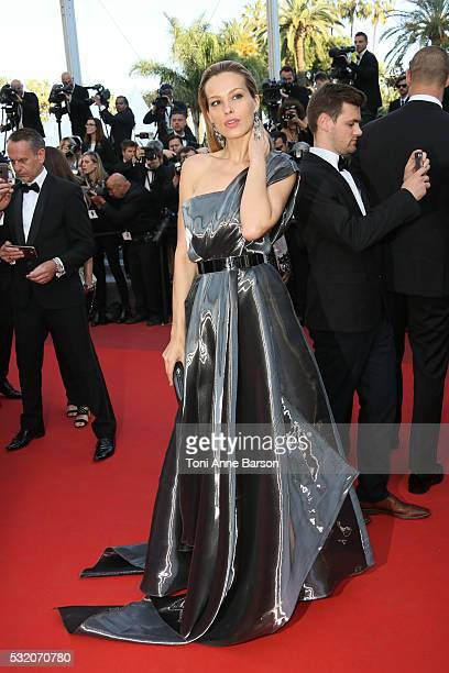 Petra Nemcova attends a screening of 'Julieta' at the annual 69th Cannes Film Festival at Palais des Festivals on May 17 2016 in Cannes France