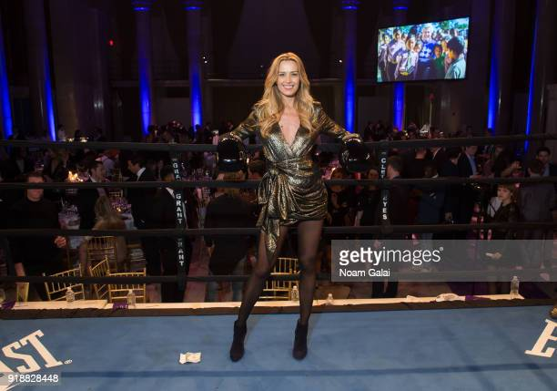 Petra Nemcova attends All Hands and Hearts Smart Response Third Annual Fight For Education at Cipriani Wall Street on February 15 2018 in New York...