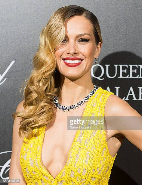 Petra Nemcova attends Chopard presenting The Garden of Kalahari at Theatre du Chatelet on January 21 2017 in Paris France