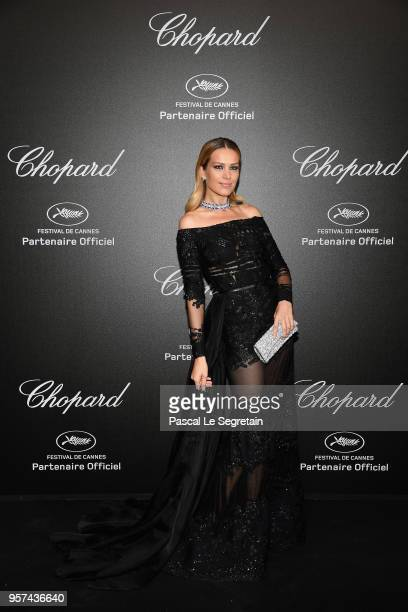Petra Nemcova attends Chopard Secret Night during the 71st annual Cannes Film Festival at Chateau de la Croix des Gardes on May 11 2018 in Cannes...
