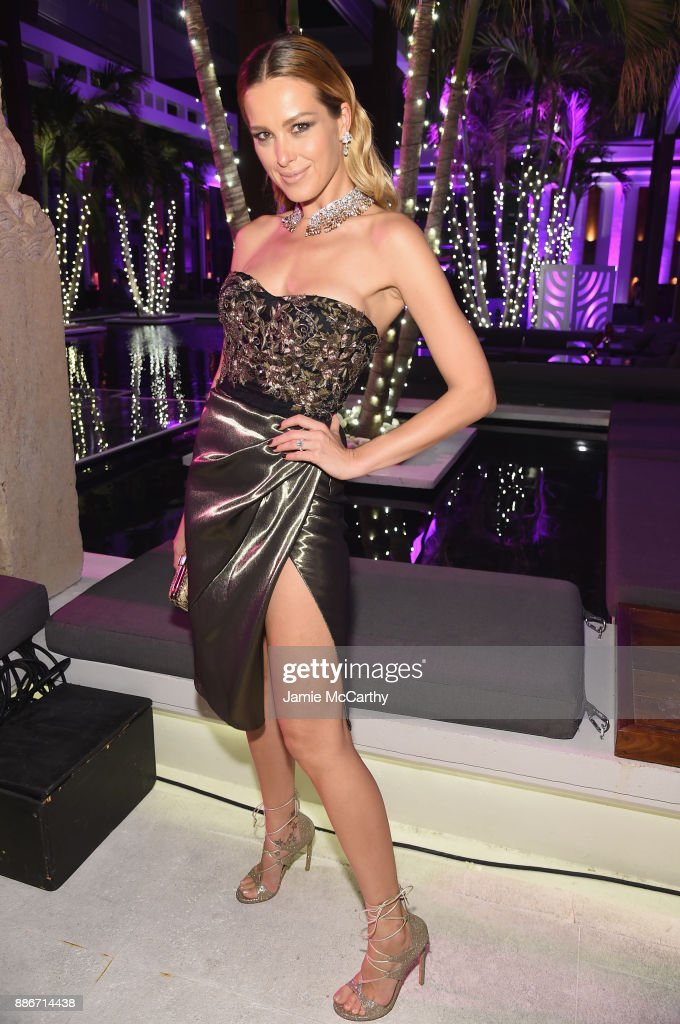 Petra Nemcova attends Creatures Of The Night Late-Night Soiree Hosted By Chopard And Champagne Armand De Brignac at The Setai Miami Beach on December 5, 2017 in Miami Beach, Florida.