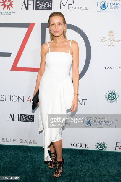 Petra Nemcova attends Fashion 4 Development's 7th Annual First Ladies Luncheon at The Pierre Hotel on September 19 2017 in New York City
