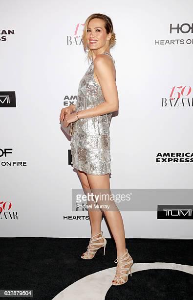 Petra Nemcova attends Harper's BAZAAR celebration of the 150 Most Fashionable Women presented by TUMI in partnership with American Express La Perla...