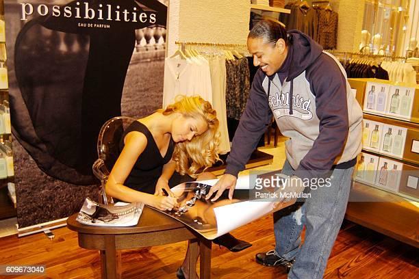 Petra Nemcova attends PETRA NEMCOVA at ANN TAYLOR in Rockefeller Center For InStore Signing Event at Ann Taylor on December 1 2007 in New York City
