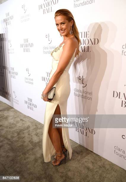 Petra Nemcova attends Rihanna's 3rd Annual Diamond Ball Benefitting The Clara Lionel Foundation at Cipriani Wall Street on September 14 2017 in New...