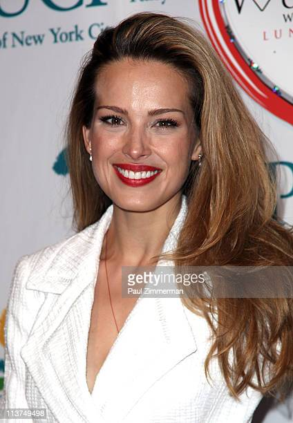Petra Nemcova attends the 10th Annual Women Who Care Luncheon benefiting United Cerebral Palsy of New York City at Cipriani 42nd Street on May 5 2011...