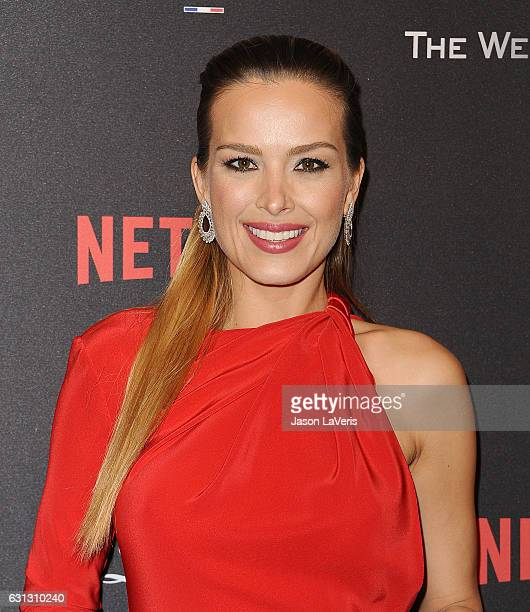 Petra Nemcova attends the 2017 Weinstein Company and Netflix Golden Globes after party on January 8 2017 in Los Angeles California