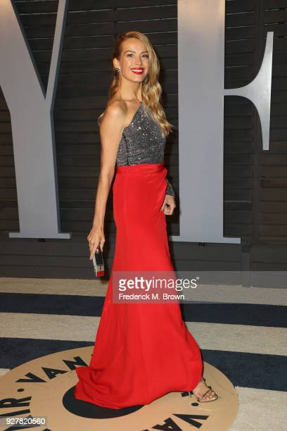 Petra Nemcova attends the 2018 Vanity Fair Oscar Party hosted by Radhika Jones at Wallis Annenberg Center for the Performing Arts on March 4 2018 in...