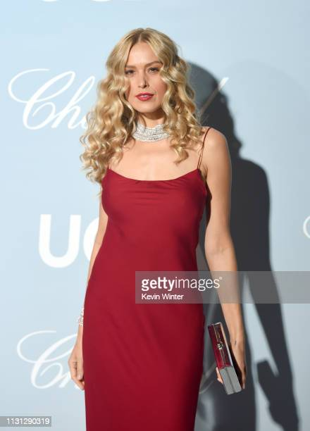 Petra Nemcova attends the 2019 Hollywood For Science Gala at Private Residence on February 21 2019 in Los Angeles California