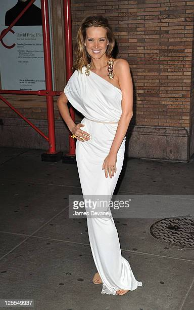 Petra Nemcova attends the 20th Annual Glamour Women of the Year awards at Carnegie Hall on November 8, 2010 in New York City.