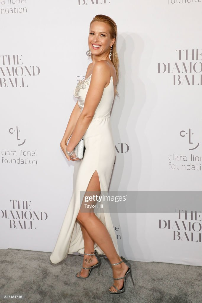 Petra Nemcova attends the 3rd Annual Diamond Ball at Cipriani Wall Street on September 14, 2017 in New York City.