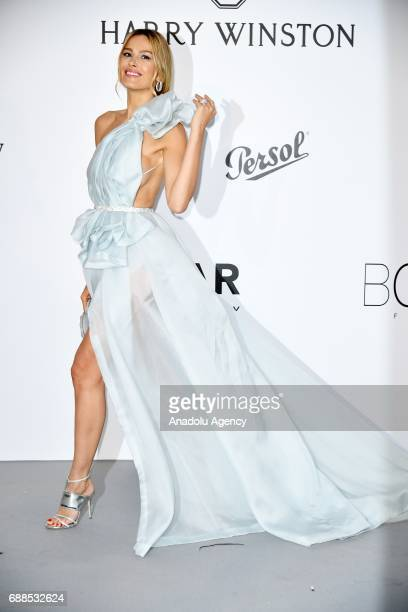 Petra Nemcova attends the Amfar Gala at Hotel du CapEdenRoc in Cap d'Antibes France on May 26 2017