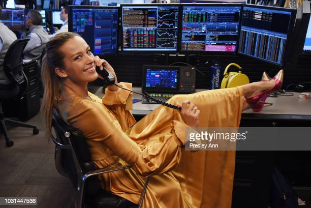Petra Nemcova attends the Annual Charity Day hosted by Cantor Fitzgerald BGC and GFI at Cantor Fitzgerald on September 11 2018 in New York City