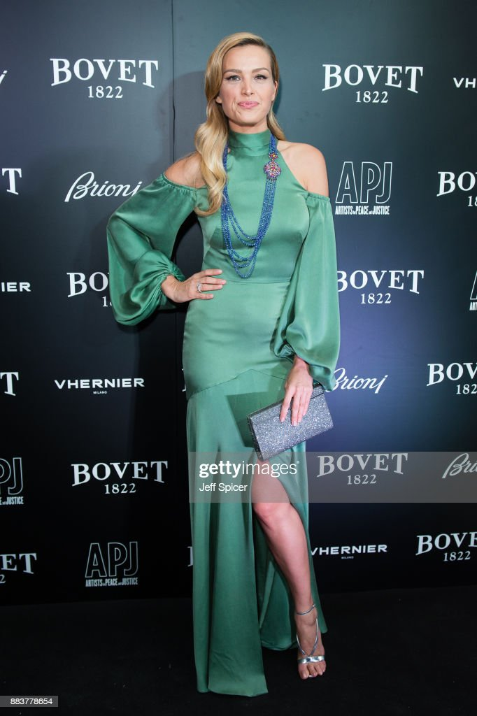 Petra Nemcova attends the 'Brilliant Is Beautiful' gala held at Claridge's Hotel on December 1, 2017 in London, England.