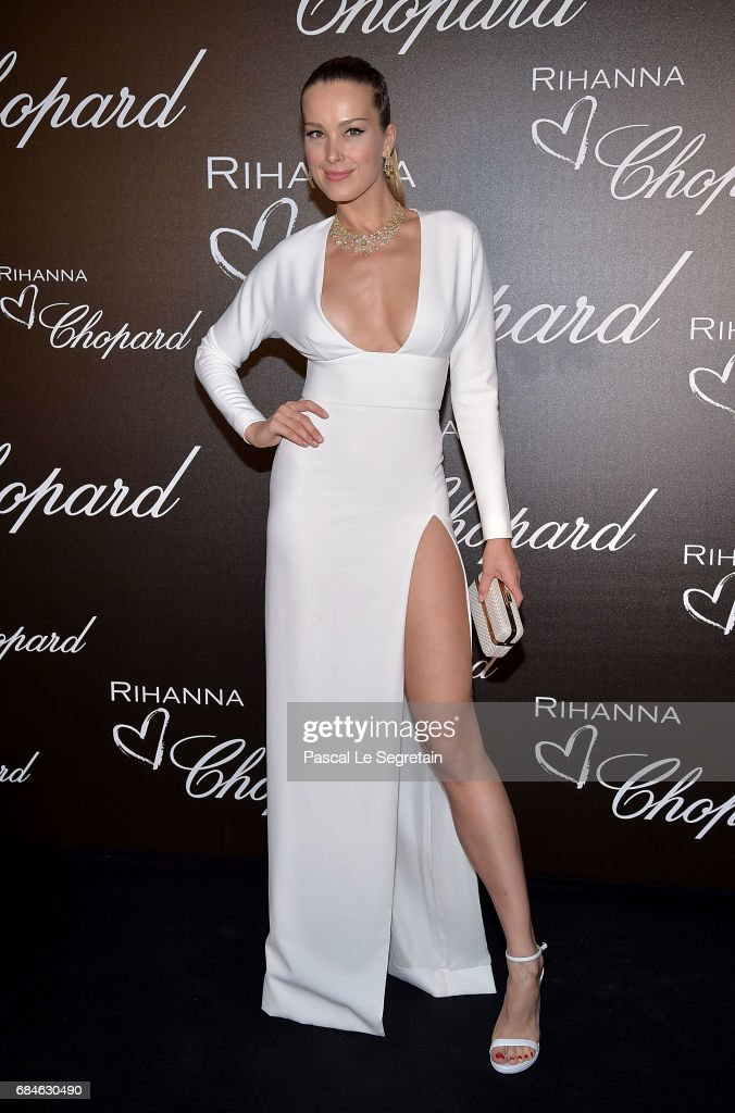 Petra Nemcova attends the Chopard dinner in honour of Rihanna and the Rihanna X Chopard Collection during the 70th annual Cannes Film Festival on the Chopard Rooftop on May 18, 2017 in Cannes, France.