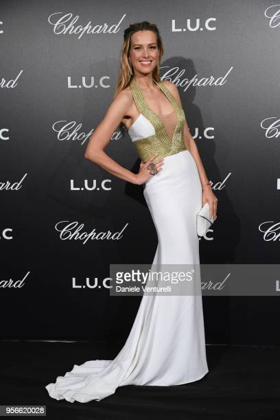Petra Nemcova attends the Chopard Gentleman's Night during the 71st annual Cannes Film Festival at Martinez Hotel on May 9 2018 in Cannes France