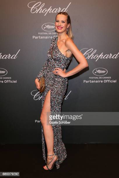 "Petra Nemcova attends the Chopard ""SPACE Party"" hosted by Chopard's copresident Caroline Scheufele and Rihanna at Port Canto on May 19 in Cannes..."