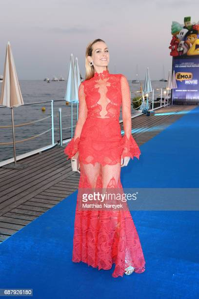 Petra Nemcova attends the Generous People 5th Anniversary Party during the 70th annual Cannes Film Festival at Martinez Pier on May 24 2017 in Cannes...
