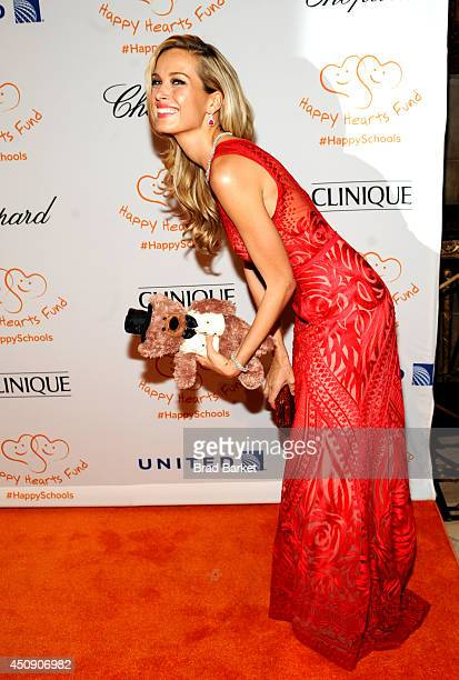 Petra Nemcova attends the Happy Hearts Fund Gala with Chopard 10 year anniversary of the Indian Ocean tsunami tribute at Cipriani 42nd Street on June...