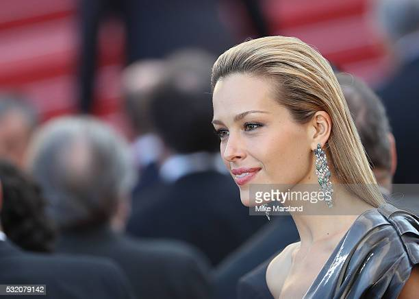 Petra Nemcova attends the 'Julieta' Premiere at the annual 69th Cannes Film Festival at Palais des Festivals on May 17 2016 in Cannes France