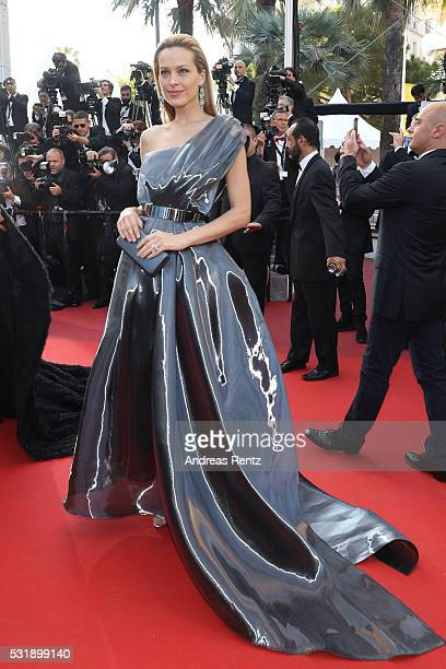 Petra Nemcova attends the 'Julieta' premiere during the 69th annual Cannes Film Festival at the Palais des Festivals on May 17 2016 in Cannes France