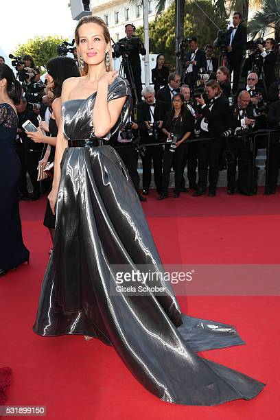 Petra Nemcova attends the Julieta premiere during the 69th annual Cannes Film Festival at the Palais des Festivals on May 17 2016 in Cannes France