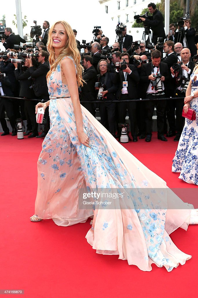 Petra Nemcova attends the Premiere of 'Sicario' during the 68th annual Cannes Film Festival on May 19, 2015 in Cannes, France.