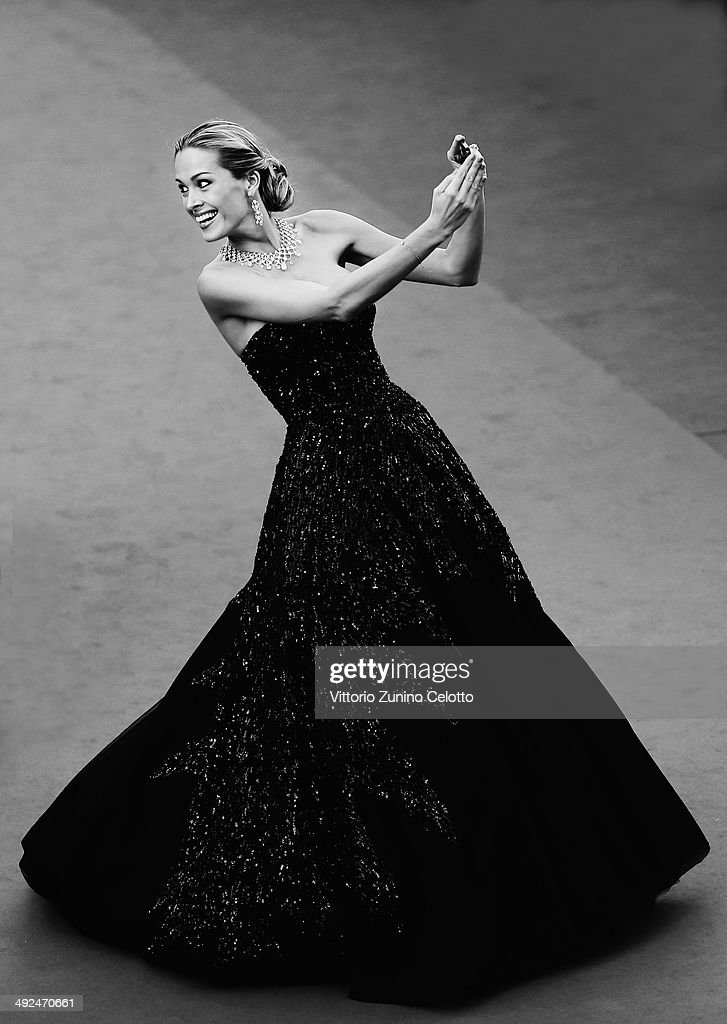 Petra Nemcova attends the Premiere of 'Two Days, One Night' (Deux Jours, Une Nuit) at the 67th Annual Cannes Film Festival on May 20, 2014 in Cannes, France.
