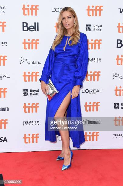 Petra Nemcova attends the Quincy premiere during 2018 Toronto International Film Festival at Princess of Wales Theatre on September 9 2018 in Toronto...