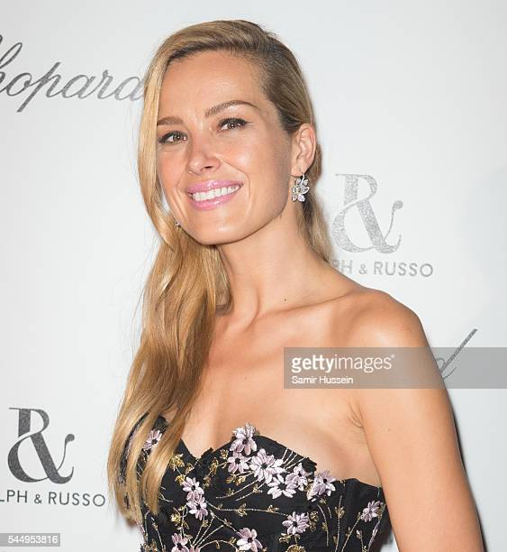 Petra Nemcova attends the Ralph Russo And Chopard Host Dinner as part of Paris Fashion Week on July 4 2016 in Paris France