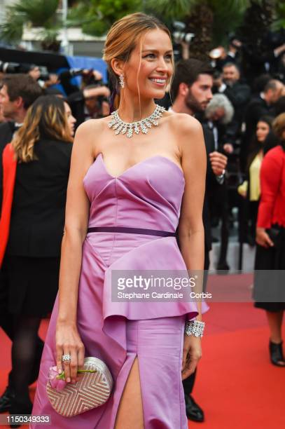 Petra Nemcova attends the screening of A Hidden Life during the 72nd annual Cannes Film Festival on May 19 2019 in Cannes France