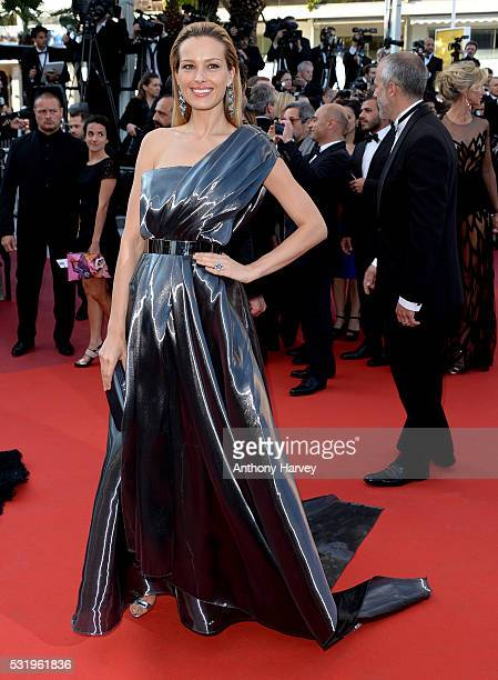 Petra Nemcova attends the screening of 'Julieta' at the annual 69th Cannes Film Festival at Palais des Festivals on May 17 2016 in Cannes France
