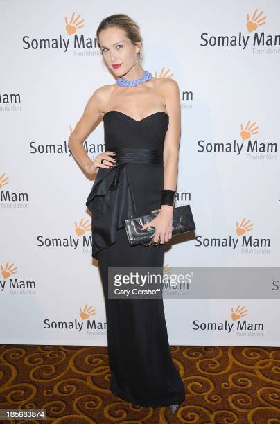 Petra Nemcova attends the Somaly Mam Foundation Gala at Gotham Hall on October 23 2013 in New York City