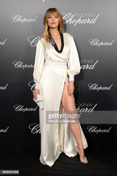 Petra Nemcova attends the Trophee Chopard during the 71st annual Cannes Film Festival at Hotel Martinez on May 14 2018 in Cannes France