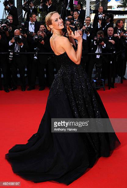 Petra Nemcova attends the 'Two Days One Night' premiere at the 67th Annual Cannes Film Festival on May 20 2014 in Cannes France