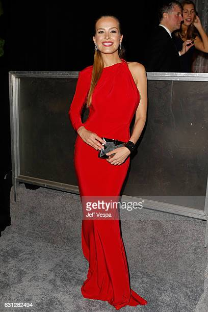 Petra Nemcova attends The Weinstein Company and Netflix Golden Globe Party presented with FIJI Water Grey Goose Vodka Lindt Chocolate and Moroccanoil...