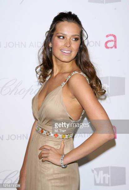 Petra Nemcova during 15th Annual Elton John AIDS Foundation Oscar Party at Pacific Design Center in Los Angeles California United States