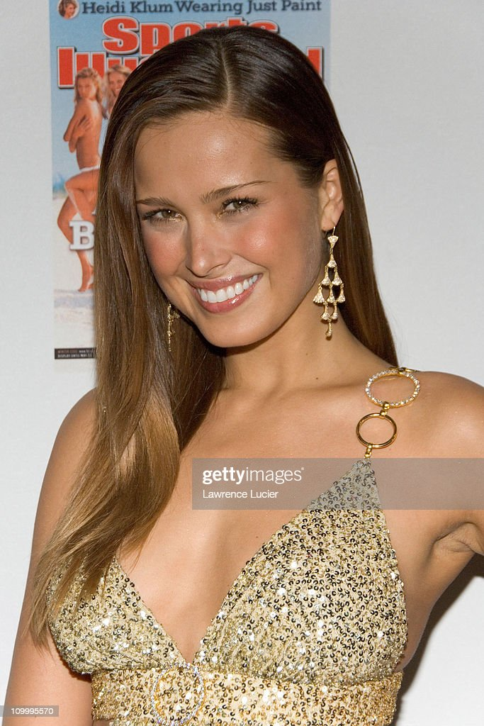Petra Nemcova during 2006 Sports Illustrated Swimsuit Issue Press Conference at Crobar in New York City, New York, United States.
