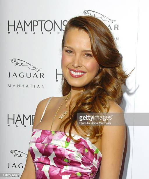 Petra Nemcova during Hamptons Magazine Celebrates the Premiere of its Spring Issue with Cover Girl Petra Nemcova and Launch of the AllNew Jaguar XK...
