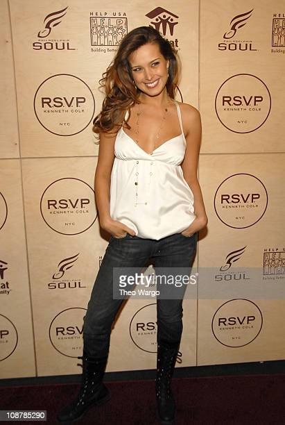 Petra Nemcova during Kenneth Cole's R.S.V.P to HELP Hosted by Jon Bon Jovi and Kenneth Cole - Arrivals at Soho Grand and Tribeca Rooftop in New York...