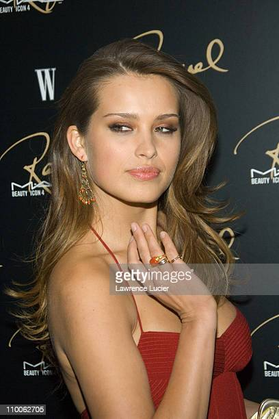 Petra Nemcova during MAC Cosmetics Honored Raquel Welch as the New Beauty Icon Arrivals at Gilt The New York Palace Hotel in New York City New York...