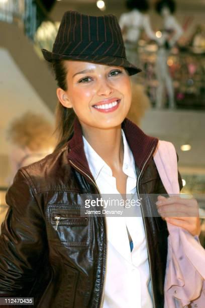 Petra Nemcova during Petra Nemcova Shopping at Bendel's New La Lingerie Shop at Henri Bendel in New York City New York United States